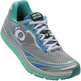 PEARL iZUMi EM Road N2 v3 Shoes Women silver/aqua mint